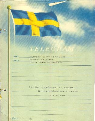 50 års telegram Slægtsarkiv for familien Mikkelsen   Telegram til Emil Larssons 50  50 års telegram